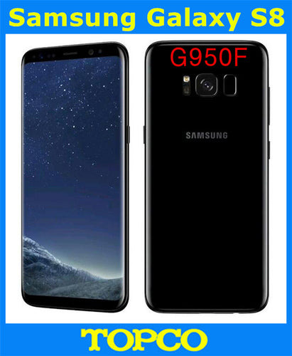 Samsung Galaxy S8 G950F Original Unlocked 4G LTE Android Mobile Phone Octa Core 5.8