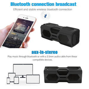 LEORY PT-390A Waterproof Wireless Bluetooth Speaker