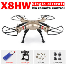FOR SYMA X8 X8G X8HG X8HW RC Drone NO Camera or NO Camera Remote 6-Axis RC Helicopter Quadcopter Can Fit Gopro Xiaoyi Camera