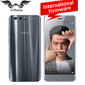Original Huawei Honor 9 Mobile Phone 4G LTE 5.15' Kirin 960 Octa Core 6GB RAM 64GB ROM Dual Rear 1920*1080P  Fingerprint NFC