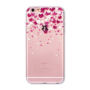 Colorful Donuts Macaron Phone Cases For iphone 7 8 7plus 6 6S 5 5S SE 6Plus 6SPlus 8 plus Girls Design Love Heart Phone Case
