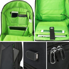 15.6 Laptop Waterproof Backpack Anti Theft Backpack With Usb Charging