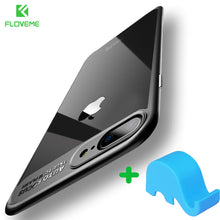 FLOVEME Ultra Slim Phone Case For iPhone 6 6s Plus Transparent Soft Silicone TPU + PC Clear Coque For iPhone 7 7 Plus / 8 8 Plus