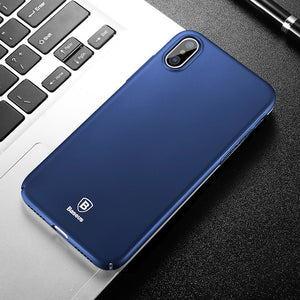 Baseus Phone Case For iPhone X Case Ultra Thin Slim Protection Phone Case For Apple iPhone X Back Protective Cover