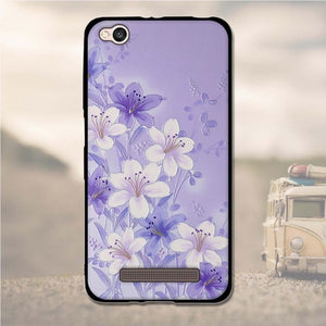 "3D Pattern Cases For Xiaomi Redmi 4A Case TPU 5.0"" Soft Case For Redmi 4a Cover Silicone Cases For Xiaomi Redmi 4 A Redmi4a bags"