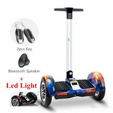 New 10inch Hoverboard Electric Scooter Bluetooth +Speaker+Led Light+Remote key Self balancing scooter