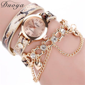 Duoya brand luxury women watch