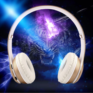 Bluetooth Foldable P47 Headset Stereo Headphone Earphone for iPhone