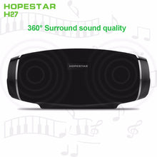 HOPESTAR Mini Rugby Wireless Bluetooth Speaker Waterproof Music Subwoofer altavoces Bluetooth With Mic USB TF Card FM Sound Box
