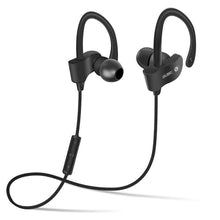 FORNORM Sports Bluetooth Headphone SweatProof Earphone Magnetic Earpiece Stereo Wireless Headset for Mobile Phone
