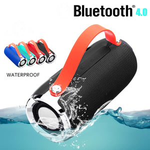 LEORY X91 Portable Bluetooth Speaker CH2.1 NFC Waterproof Mini Speaker with Mic Handfree TF FM Radio Speaker for Smartphones PC