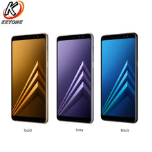 "Brand New Samsung Galaxy A8 PLUS A8+ 2018 A730F-DS Mobile Phone 6.0"" 6GB RAM 64GB ROM Octa Core 3500mAh Dual Front Camera Phone"