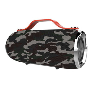 Portable Bluetooth Speaker Outdoor Waterproof Wireless Sound Box Speakers For SmartPhone(Camouflage)