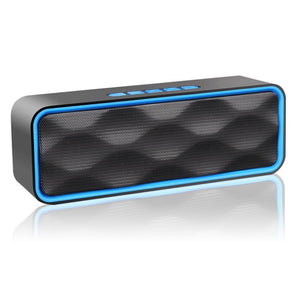 Universal Wireless Bluetooth Speaker Portable Stereo Sports Speakers Subwoofer Supports TF Card/USB/AUX/FM