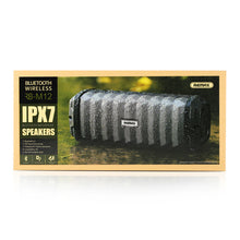 Remax IPX7 Outdoor Portable Bluetooth Column Waterproof Wireless Speakers Support AUX Music MP3 Player Loudspeakers for iphone 8