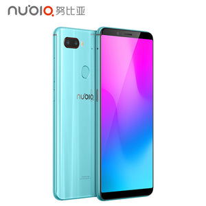 ZTE Nubia Z18 mini Android 8.1.0 6G RAM 64 ROM Mobile Phone Snapdrogon 660 AIE 5.7Inch Full Screen Fingerprint  4GLTE Smartphone