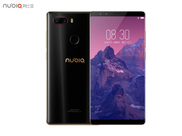 Original ZTE Nubia Z17S Mobile Phone With 4 Cameras 6GB+64GB 8GB+128GB  Full Screen Fingerprint  Snapdragon 835 4G LTE Smartphon