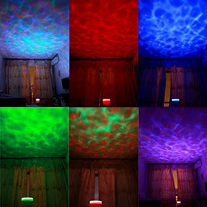 FUMAT Aurora Master Night Light Ocean Wave Projector Music Player Speaker LED Night Light Colorful Sky Starry Kids Gift Lights