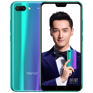 Huawei Honor 10 COL-AL10, 6GB+64GB, Dual AI Rear Cameras, Face & Fingerprint Identification, Infrared Remote, 5.84 inch EMUI 8