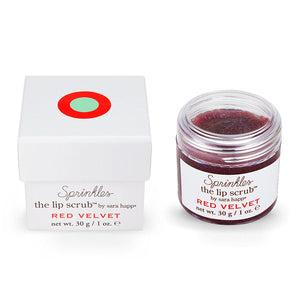 Sara Happ The Lip Scrub-Red Velvet