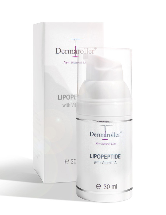 Dermaroller Lipopeptide with Vitamin A