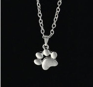 My Dogs Paw Chain Pendant Necklace