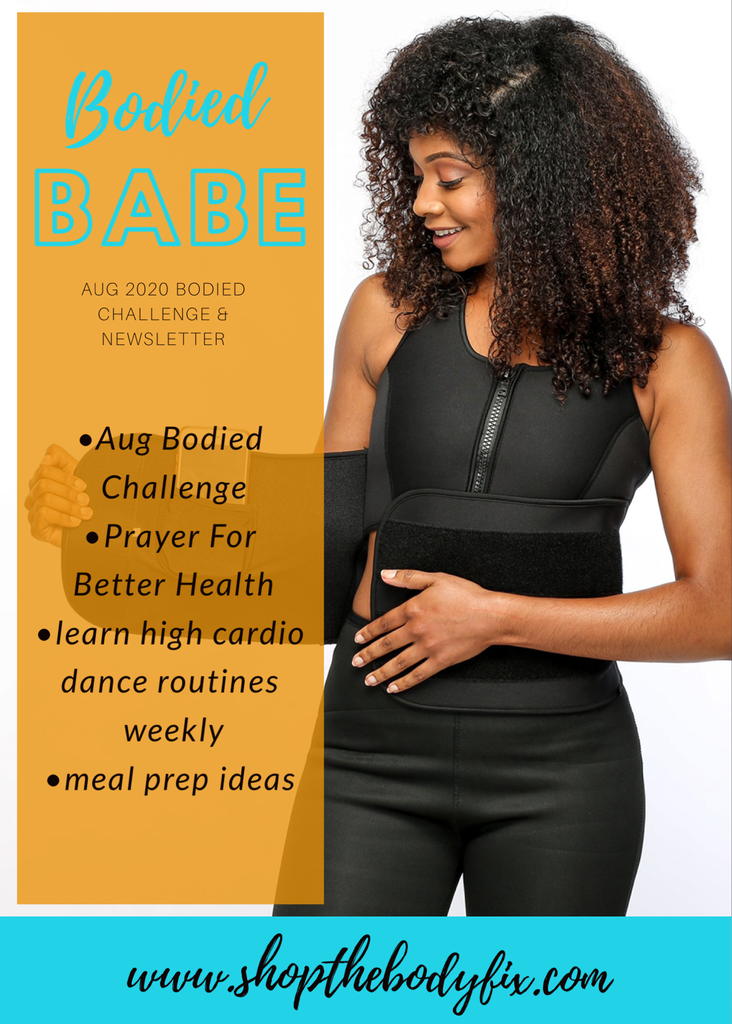 Bodied Babe Newsletter Aug 2020
