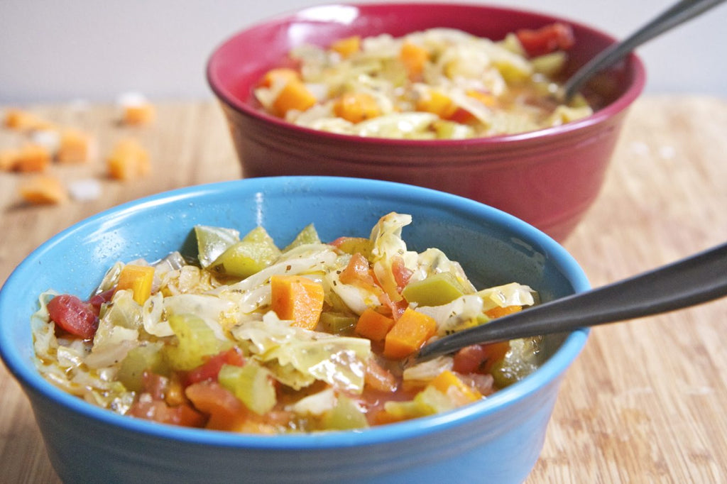 7 Day Diet Weight Loss Cabbage Soup(Lose 10lbs)