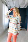 Taste of Spring Striped Sweater