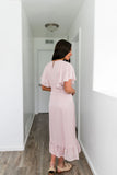 Beautiful Blossoms Blush Dress - ALL SALES FINAL