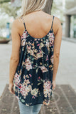 Blue Bouquet Tank