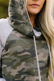 Camo Is The New Black Hoodie - ALL SALES FINAL