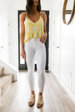 Carte Blanche White Jeans - ALL SALES FINAL