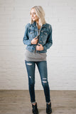 Downtown Denim Crop Jacket