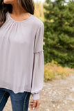 Julia Blouse In Light Lavender