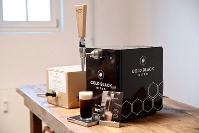 Cold Black Nitro-Coldbrew Zapfanlage