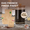 Das French Press Paket inkl. Länderkaffees