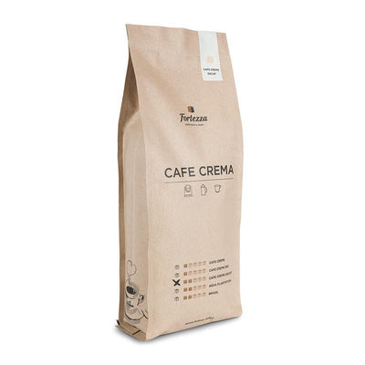 Cafe Creme CO2 Decaf-Kaffee-1kg-Ganze Bohne-Fortezza Espresso