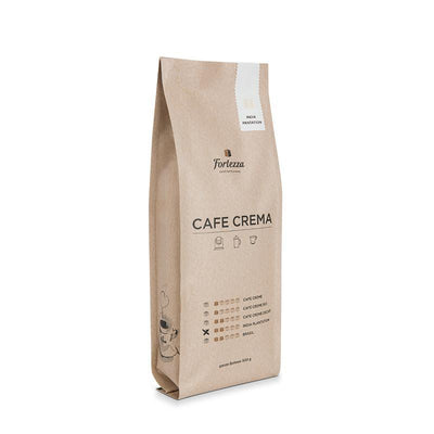 Cafe India Plantation-Kaffee-500g-Ganze Bohne-Fortezza Espresso