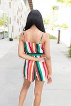 Load image into Gallery viewer, Stand Out Striped Romper