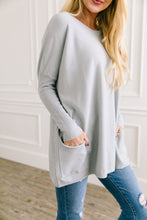 Load image into Gallery viewer, In The Pocket Tunic In Soft Ash Blue