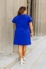 Load image into Gallery viewer, Look Like Royalty Dress In Royal Blue