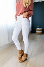 Load image into Gallery viewer, Moto Jeggings In White