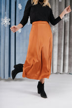 Load image into Gallery viewer, Once Upon A Time Skirt in Tangerine
