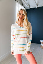 Load image into Gallery viewer, Taste of Spring Striped Sweater