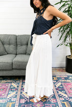 Load image into Gallery viewer, White Ruffled Maxi Skirt