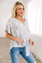 Load image into Gallery viewer, Aloha Button Down Blouse - ALL SALES FINAL