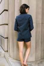 Load image into Gallery viewer, Business Casual Pinstriped Blazer