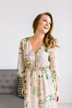 Load image into Gallery viewer, Camille Floral Maxi
