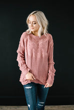 Load image into Gallery viewer, Chenille Sweater in Rose